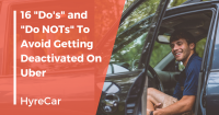 how to avoid being deactivated from uber