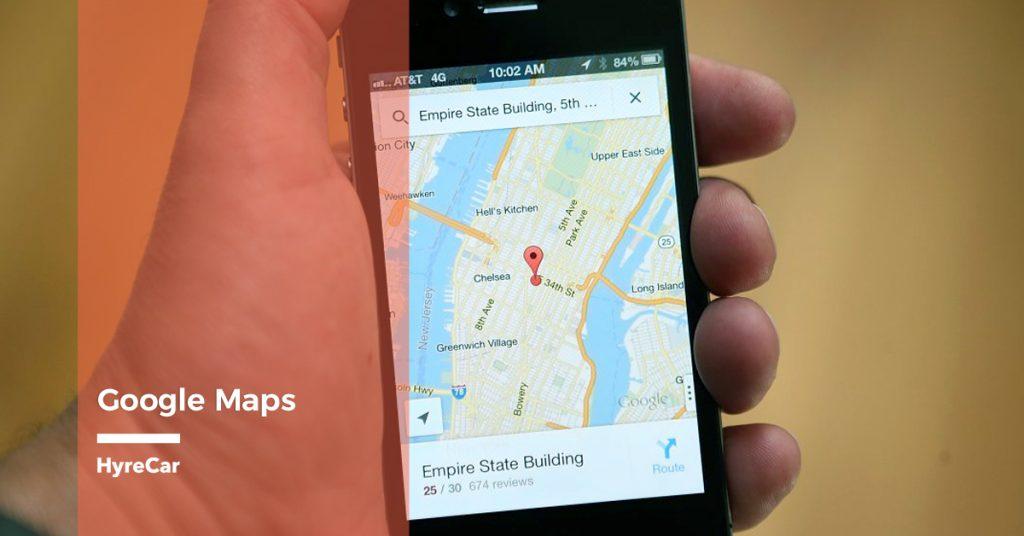 HyreCar - Which Map App Is Best For Uber