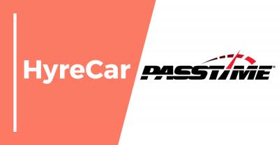 Hyrecar, hyrecar partnership, passtime, ridesharing, rideshare, rent a car, car rental, mobility