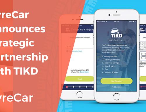 HyreCar Announces Strategic Partnership With TIKD to Launch Ticket Management Pilot Program
