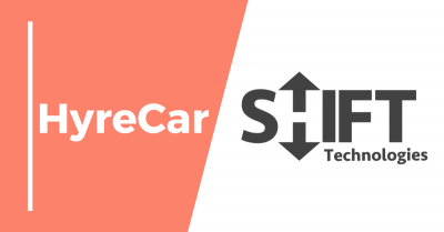 Hyrecar, Ridesharing, rideshare, mobility, hyrecar partnership, rent a car, shift technology