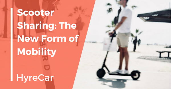 HyreCar, ridesharing, mobility, scooter sharing