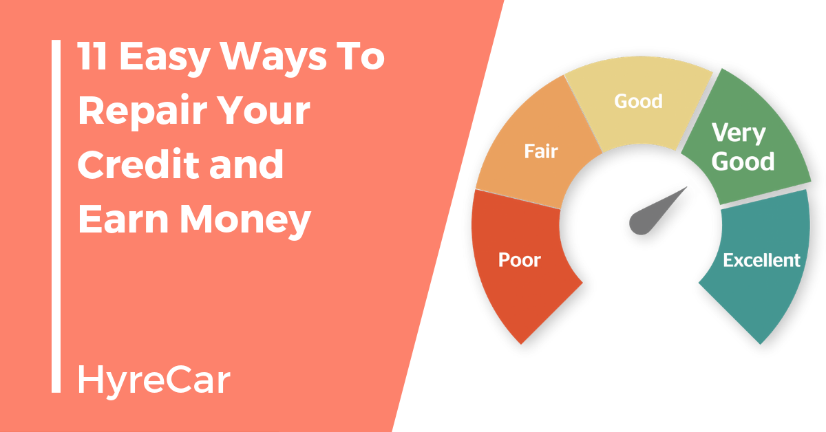 carsharing, ridesharing, credit score, credit repair, financing
