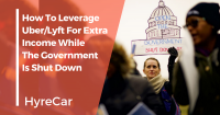 rideshare, uber, lyft, carshare, income