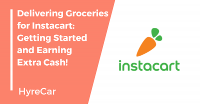 instacart, shopper, driving, groceries