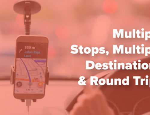 Multiple Stops, Multiple Destinations & Round Trips in Lyft