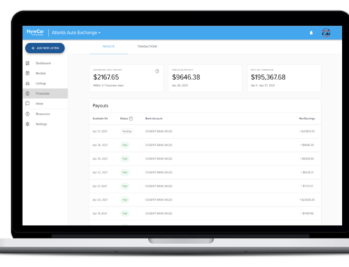 Owner Financial Page Product Updates